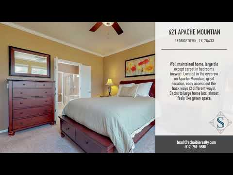 621 Apache Mountain Lane, Georgetown, TX 78633
