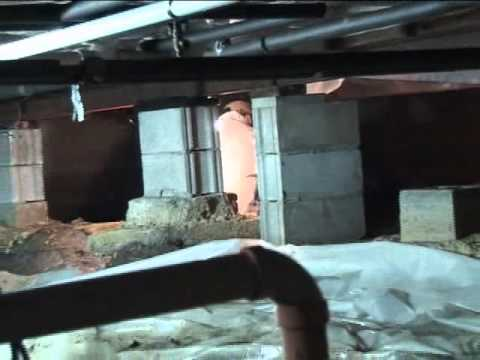 Fixing A Crawl Space Foundation in Oneida, NY | Wilcox Basement Systems Case Study