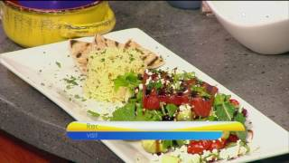 "The Kitchen Magician Creates a Spring Grilled Watermelon Salad on today's "" Virginia This M"