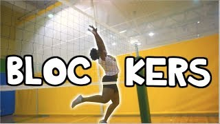 9 Types of Volleyball Blockers!