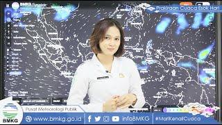 Prakiraan Cuaca BMKG Minggu 25 Juli 2021: Beberapa Wilayah Diprediksi Hujan Lebat Disertai Angin