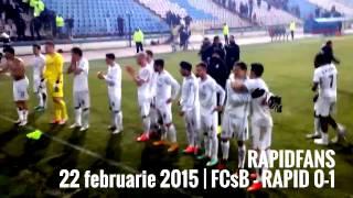 22:31 Final de meci FCsB - RAPID 0-1 / cantece Daniel Pancu si Daniel Niculae