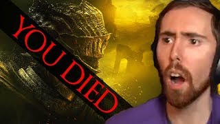 Asmongold DIES To The EASIEST Boss In Dark Souls 3 - DS 3 Day 2