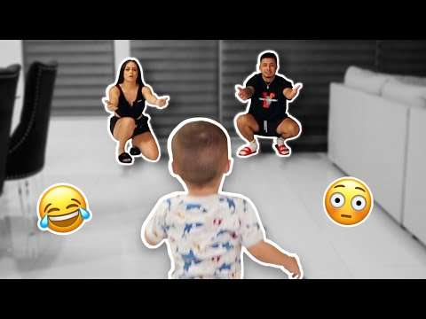 WHO DOES BABY G LOVE MORE? *funny af 😂