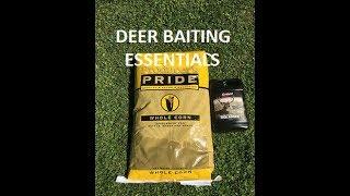 Early Bow Season Deer Baiting Essentials & Tips
