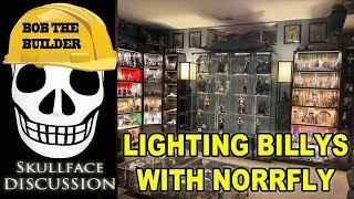 Lighting IKEA Billys With Ikea Norrfly