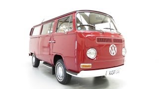 preview picture of video 'An Unrepeatable Type 2 Volkswagen Westfalia Campmobile with Only 12,769 Miles - SOLD!'