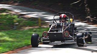 Cross Kart Custom Mechanical Speedometer Install!