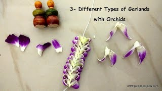 Heart Garlands And Love Garlands With Orchids