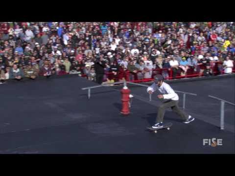 Jon Consentino - 3rd Final Skate - FISE World Edmonton 2016