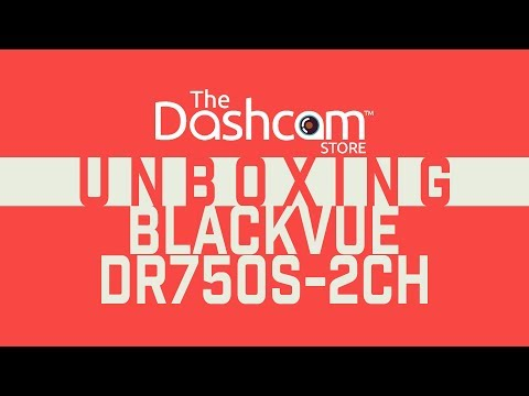 DR750S-2CH Unboxing by The Dashcam Store