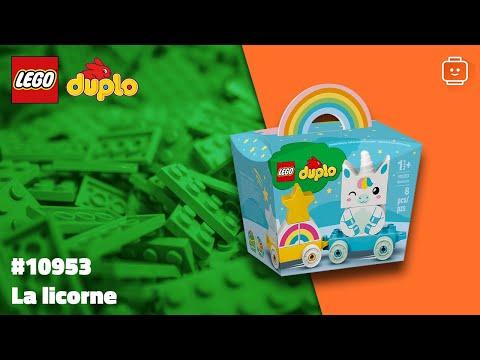 Vidéo LEGO Duplo 10953 : La licorne