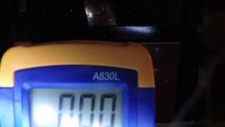 Radiation shielded GoPro sent through electron beam irradiator GOPR0056 2,5mev6ma