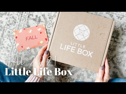 Little Life Box Unboxing Fall 2021