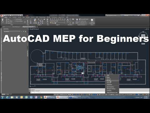 AutoCAD MEP Tutorial for Beginners - YouTube