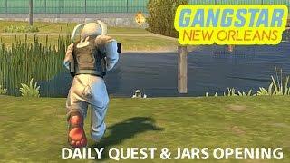 GANGSTAR NEW ORLEANS - SPIRIT JARS OPENING & DAILY QUEST