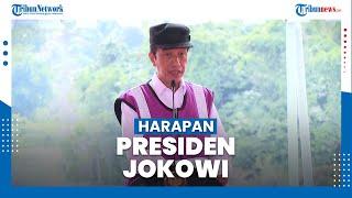 Presiden Berharap Bendungan Sindangheula Dapat Meningkatkan Produktivitas Pertanian di Banten