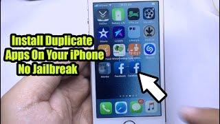 *NEW* Install Duplicate Apps (Facebook, Messenger, Instagram, & More) No Jailbreak