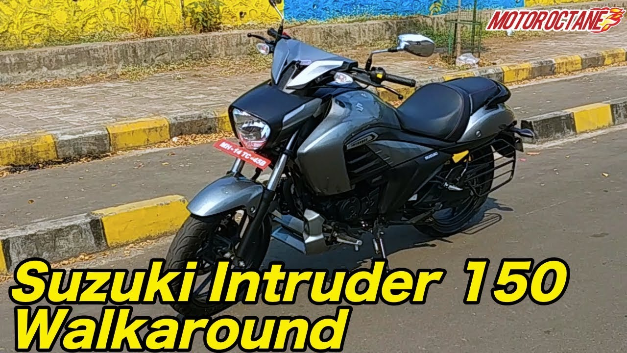 Motoroctane Youtube Video - Suzuki Intruder Walkaround Review in Hindi | MotorOctane