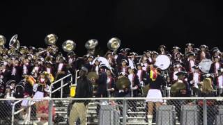 Band in the Stands at Jackson-Olin