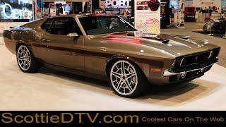 1971 Ford Mustang  71 Mach Foose Mustang Foose Design  The SEMA Show 2017
