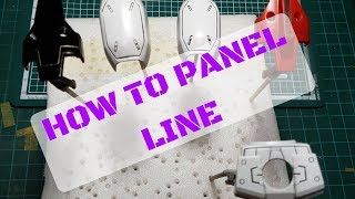 Tutorial: How To Panel Line
