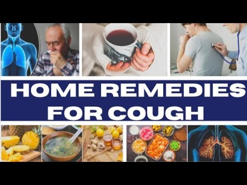 9 Natural Remedies To Treat Cough At Home || Tips to get rid of cough naturally at home.