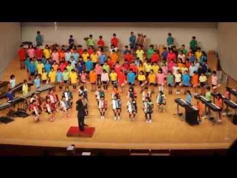 宮崎市立大宮小学校 4年生 合奏「パイレーツ・オブ・カリビアン」