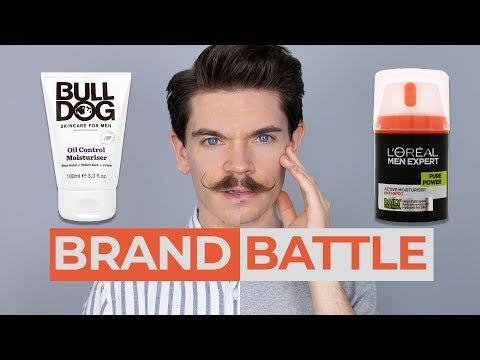 Bulldog Skincare Oil Control Moisturiser vs. L'Oréal Men Expert Pure Power   Brand Battle