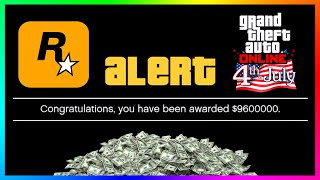 MORE FREE Money Is Being Given To Players In GTA 5 Online..4th Of July 2020 Independence Day Update!