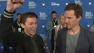 Бенедикт Камбербэтч, D23 Expo 2017 | Tom Holland and Benedict Cumberbatch | Avengers: Infinity War