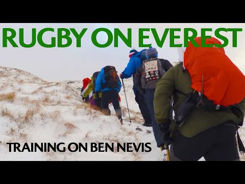 Rugby on Everest: Training on Ben Nevis!