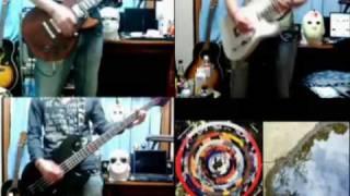 9mm Parabellum Bullet「The World」Guitar&Bass Cover