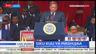 President Kenyatta commends Kenyans for maintaining peace after annulment of his win