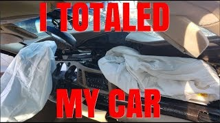 I Was in A Car Accident And Totaled My Car....