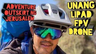 Unang Lipad ng FPV Drone sa outskirt ng Jerusalem