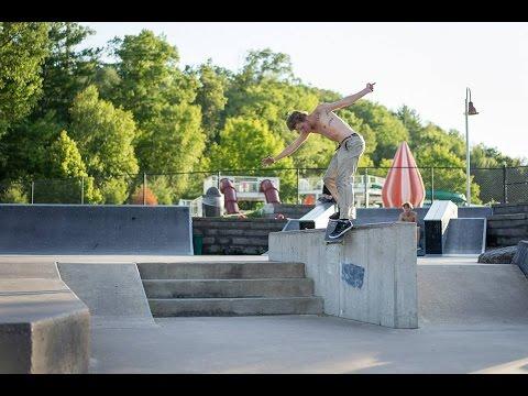 Black River Falls Skatepark - In a Minute