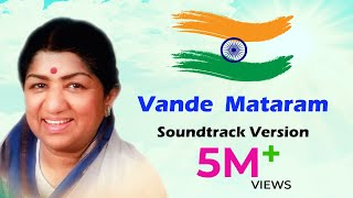 Vande Mataram Lata Mangeshkar Original Version | Independence Day Special Song | Desh Bhakti Song