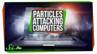 How Intergalactic Particles Are Attacking Your Laptop