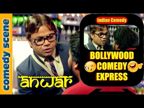 Rajpal Yadav Comedy Scene - Bollywood Comedy Express - Anwar - Indian Comedy (видео)