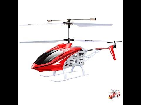 Вертолет SYMA S39 (S10) распаковка и тестовый полёт