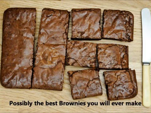 Gorgeous Chocolate Brownies