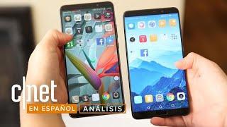 Frente a frente: Huawei Mate 10 vs. Note 8 vs. iPhone 8 Plus