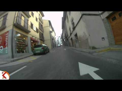 Trams en moto, Barcelona, Santa Maria de Corcó  001
