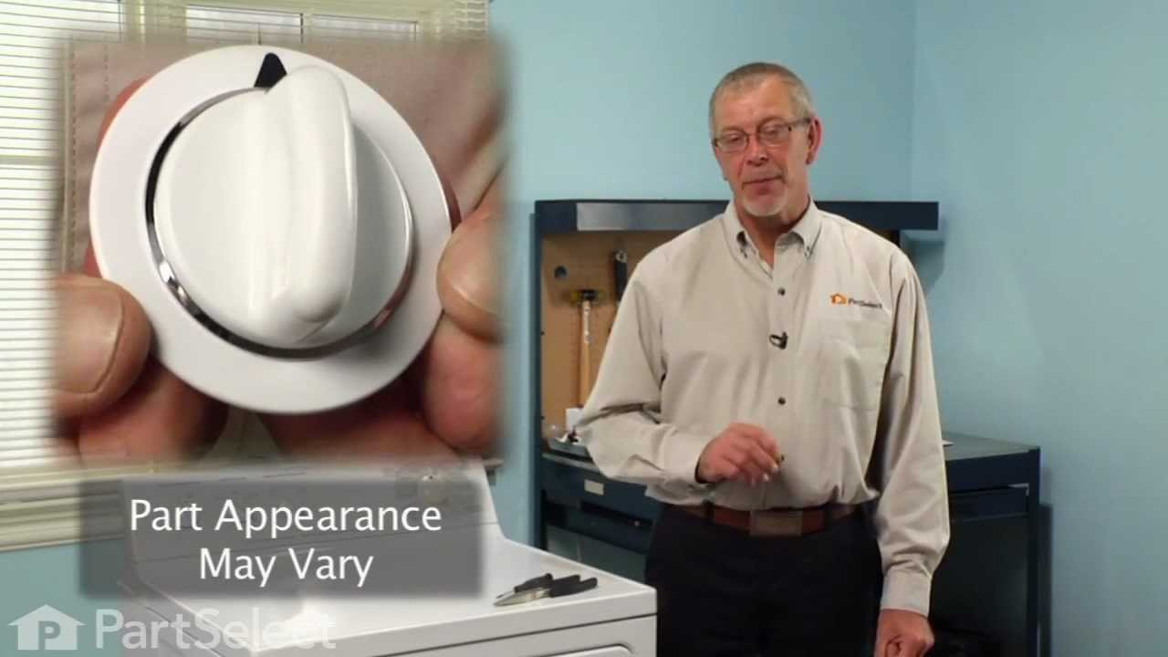 Replacing your General Electric Dryer Timer Knob