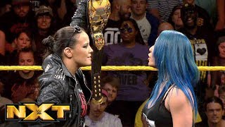 Mia Yim Challenges NXT Women's Champion Shayna Baszler At TakeOver: Toronto: WWE NXT, Aug. 7, 2019