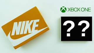 Nike sent me a Mystery Xbox & Sneakers! [UNBOXING]