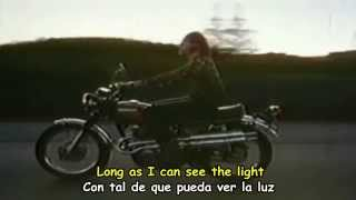 CREEDENCE CLEAWATER REVIVAL - LONG AS I CAN SEE THE LIGHT - Subtitulos Español  Inglés