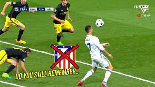 Top 3 Momen Ketika Cristiano Ronaldo Permalukan Atletico Madrid