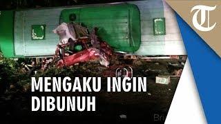 Kecelakaan Maut di Tol Cipali hingga 12 Orang Tewas, Ini Pengakuan Penumpang yang Serang Sopir Bus